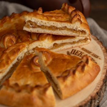Сладкий пирог с яблоком 1000 гр