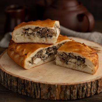 Пирог с курицей и грибами 1000 гр