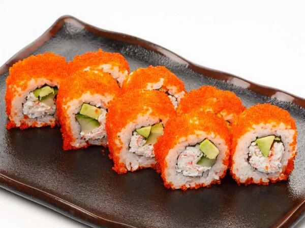 меню суши роллы