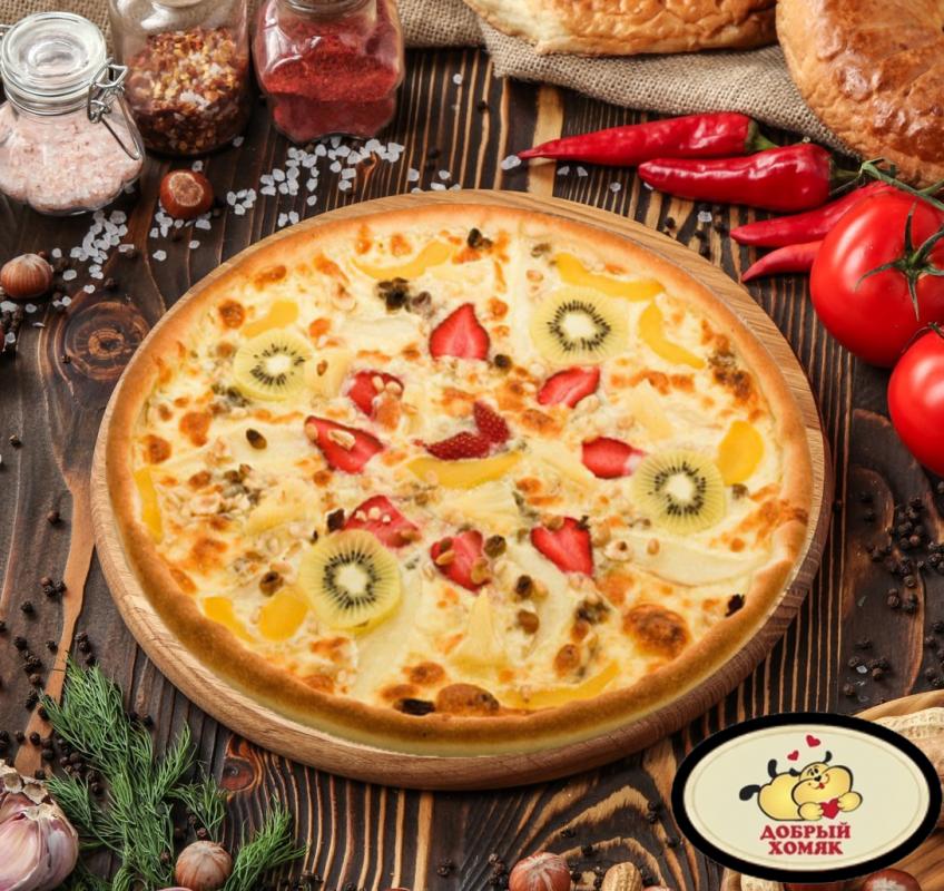 Фруктово-ягодный микс пицца 33 см