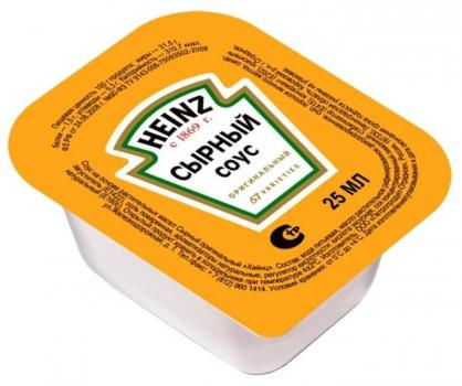 Соус Heinz сырный 25 мл